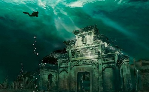 The sunken city of Olous